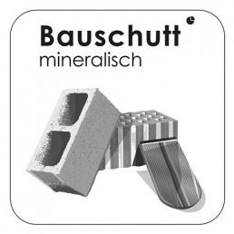 Bauschutt mineralisch